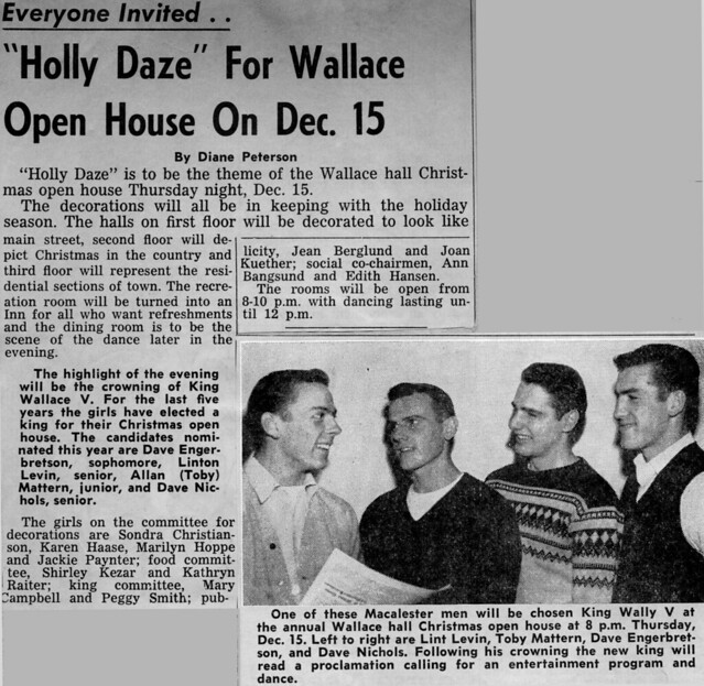 Holly Daze - Wallace Hall Christmas Open House