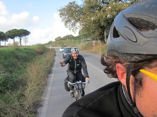 Diego, my new Italian cycling friend
