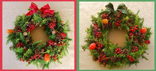 ★子供達へのクリスマス・リース