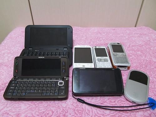 2010年購入端末