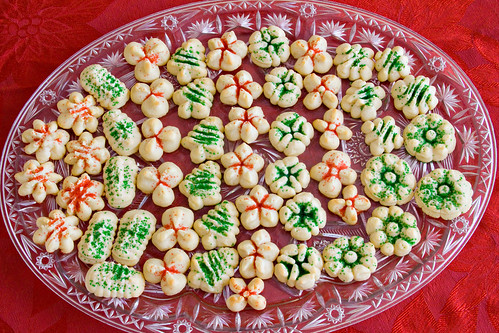 Cream Cheese Spritz Cookies - 5