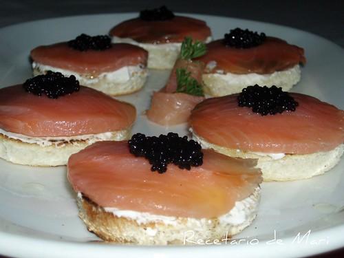 Montditos de salmón 8