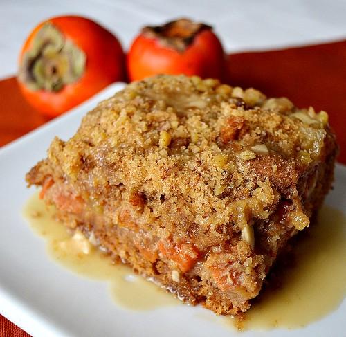 Persimmon Crumb Cake Recipes