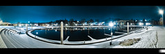 The Marina | My Favorite Playground (HD Photographie) Tags: panorama snow france night port marina landscape high dynamic pentax ardennes sp ii di if neige hd af paysage tamron range nuit hdr ld plaisance herv k7 charlevillemzires f3545 1024mm asperical dapremont tamronspaf1024mmf3545diiildaspericalif hervdapremont