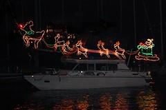 Christmas Ship Parade along the Columbia River