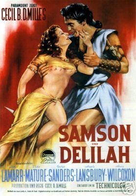'samson and delilah' movie