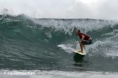 Serangen Island Wave (liquidmocean) Tags: bali surfing surfspot waterhousing seranganisland