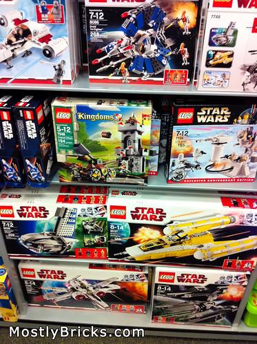 LEGO Displays at Barnes & Noble (South Austin)
