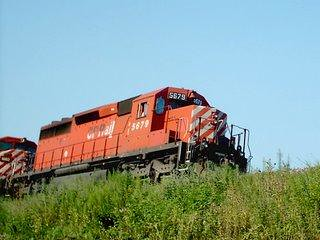 Northbound Canadian Pacific Railroad transfer train. Chicago Illinois. September 2006. by Eddie from Chicago