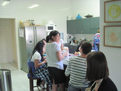 Gathered in the Kitchen