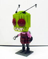 Invader Zim 1 (Model Gal) Tags: sculpture lego invaderzim