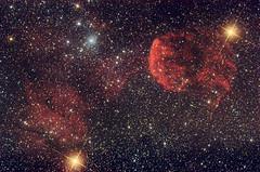Jellyfish Nebula (Skiwalker79) Tags: stars astrophotography astrofotografia canon350d astronomy medusa astronomia nebulosa stelle ic443 jellyfishnebula Astrometrydotnet:status=solved nebulosamedusa Astrometrydotnet:version=14400 ic444 restodisupernovatakahashifsq106 Astrometrydotnet:id=alpha20101247846831