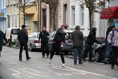 Der Gipfel der Gewalt in Freiburg (agfreiburg) Tags: protest demonstration summit freiburg polizei sommet angelamerkel gipfel nicolassarkozy polizeigewalt deutschfranzösischergipfel