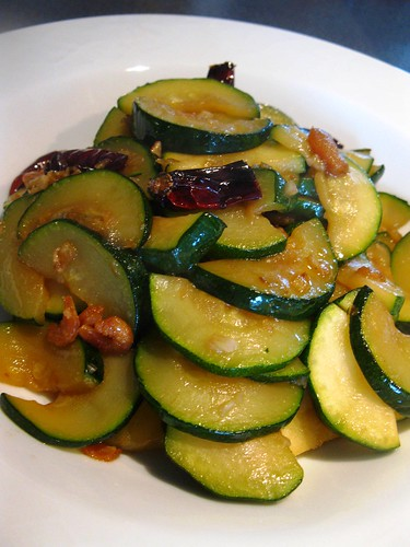 Singlish Swenglish Zucchini Stir Fried Chinese Style
