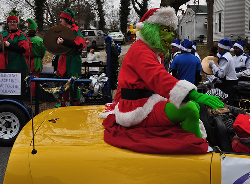 Grinch in a Vette