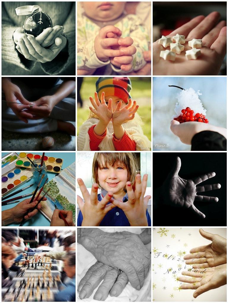 Mosaico manos