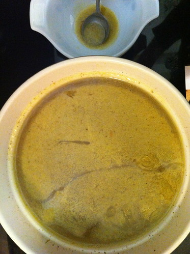 Browned Chicken Stock