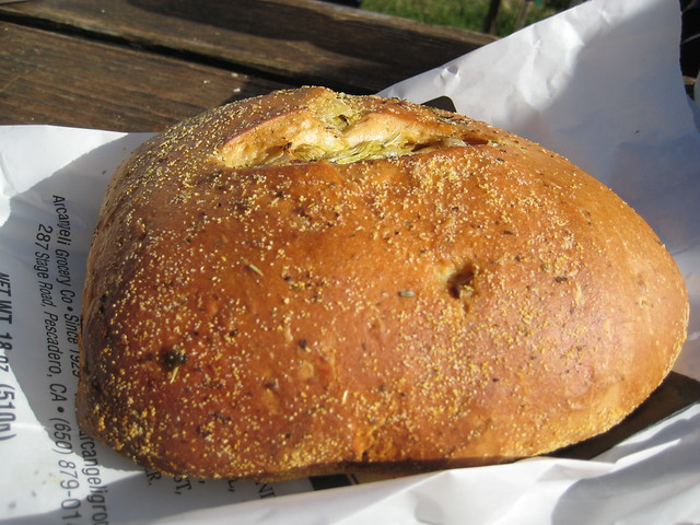 Artichoke Garlic Herb Bread