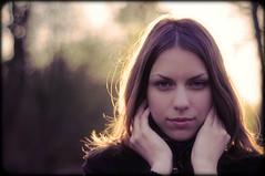 Backlights (+IV+) Tags: portrait girl beautiful backlight bokeh  hairs 50mmf18   nikond90