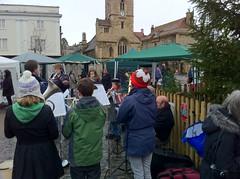 Carols in Market Square, Abingdon