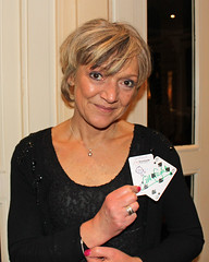 Gillian Wright (aka Jean Slater) supporting GOSH