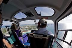 Cayman Islands Helicopter tour (blueheronco) Tags: tour aerialview helicopter caymanislands grandcayman caribbeansea fisheyelense caymanislandshelicopters eurocopter350b2