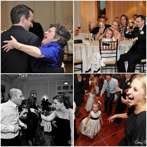 Tom & Ashley's wedding at the Washington Golf Club, image: Gary at Rodney Bailey