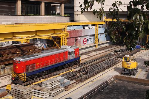 Loco 59 at Fo Tan Depot