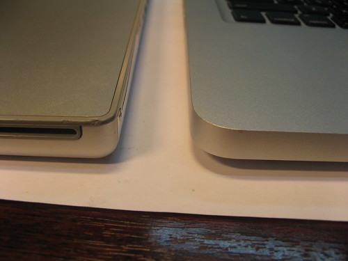 MacBook Pro vs MacBook Pro Unibody