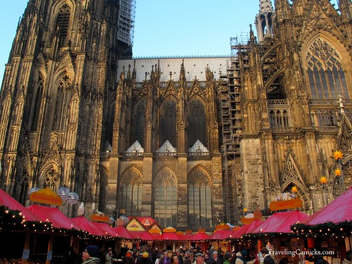 Christmas Market at the Kolner Dom - Cologne, Germany