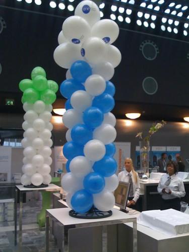 0083-ballonpilaar-breed-rond Bedrukt WTC Rotterdam