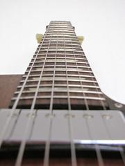 Gibson Les Paul (Don Carlier) Tags: music brown electric les studio paul guitar worn muziek gibson gitaar humbucker