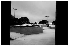 Southsea SnowPark (Claire_Sambrook) Tags: uk winter bw snow hampshire skatepark portsmouth helga camerabag southsea iphone southseaskatepark clairesambrook welshphotographer iphoneography clairesambrookphotographer