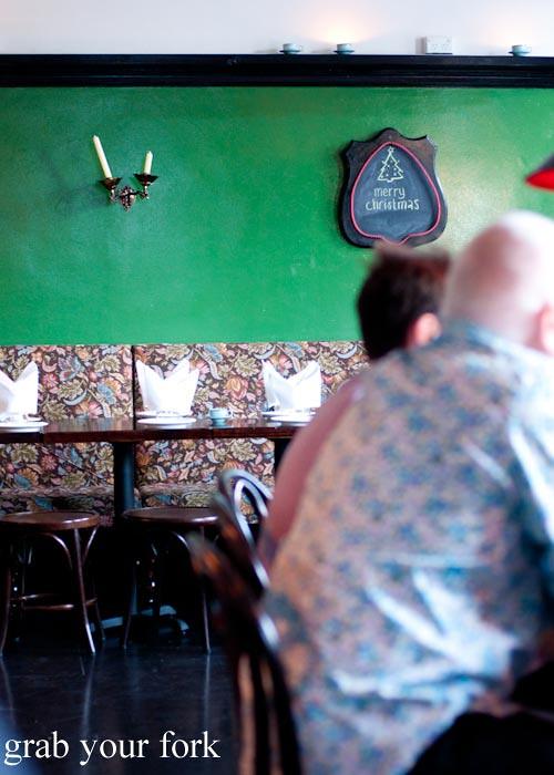 Cavalier Dining Room Kingston Menu