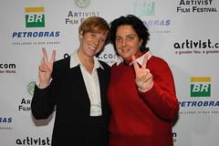 Dr. Lauri Grossman and Bettina Wolff (ARTIVIST.com) Tags: film f fest piero artivist giunti nyc2010