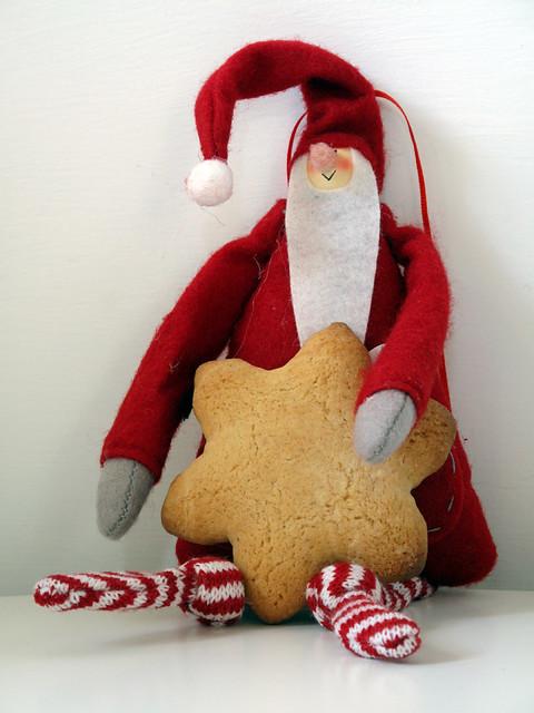 Santa 's cookie