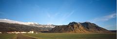 Iceland Panorama XXXIII - Farm at the Eyafjallajkull (Mafate2007) Tags: panorama 120 film analog iceland slide vulcano vulkan superwideangle schneiderkreuznach 6x10 veriwide eyafjallajkull superangulon1847