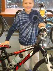 Zack's New Bike (blazer8696) Tags: nc sony northcarolina zack friendsfamily 2010 dsc05162 dscw90 t2010 pbtom