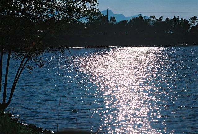 昆陽夕日與月潭漫遊