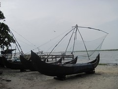 Fort Kochin (gerpower) Tags: travel india beach river boats fishing kerala backpacking fishingnets fortkochin