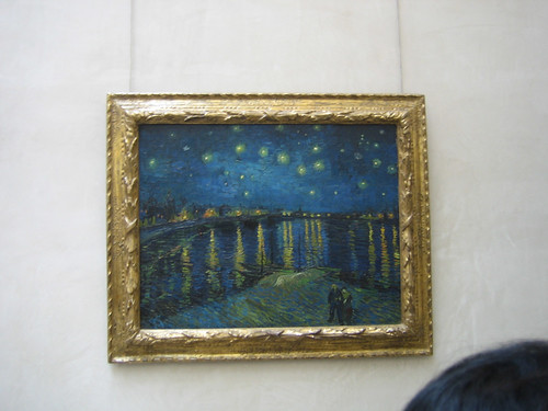 Starry Night, 1888, Van Gogh, Musée d'Orsay, June 2008