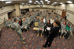 Army Chief of Staff Gen. George W. Casey Jr. Visits Fort Wainwright (The U.S. Army) Tags: sheila 2010 dec20 townhallmeeting armychiefofstaffgengeorgewcaseyjr lastfrontiercommunityactivitycenter
