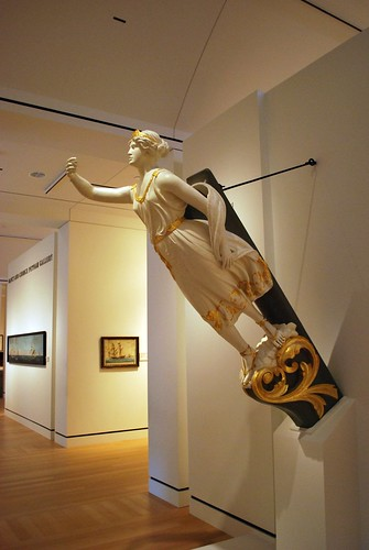 Figurehead in the American Art Gallery - First Floor