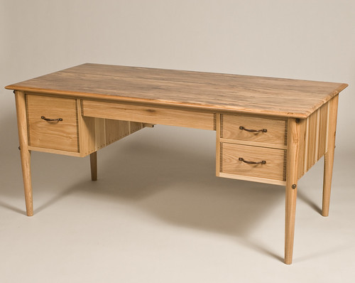 Custom Desk - Brown