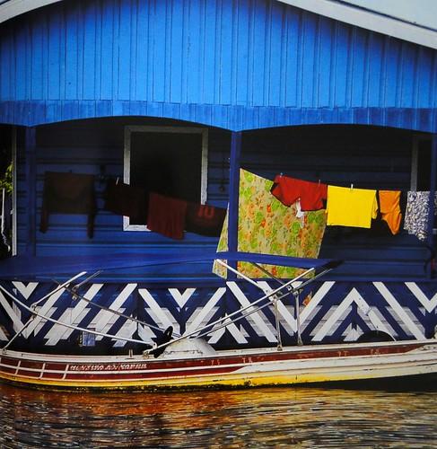 Casa à margem do Rio Solimões-AM
