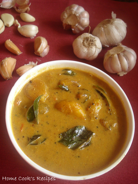 Thick Garlic Curry