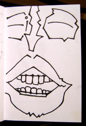 Mini Sketchbook #1 - Jan-Dec 2000