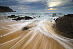 Gray Whale Cove State Beach (Jay Tankersley Photography) Tags: ocean california christmas eve sunset seascape beach sand rocks surf waves state pacific cove gray coastal whale pacifica