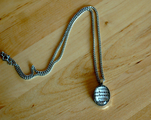 A subversive necklace