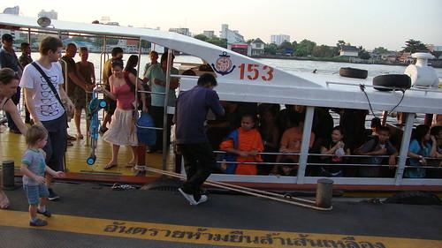 Barco de Bangkok Express